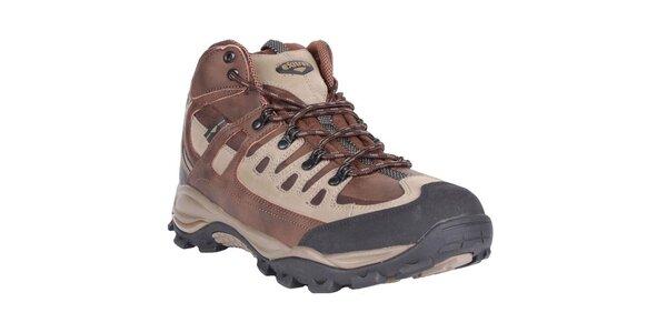 Dámské hnědo-béžové boty Authority