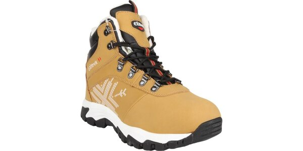 Dámské žluto-hnědé zatepletné boty Authority
