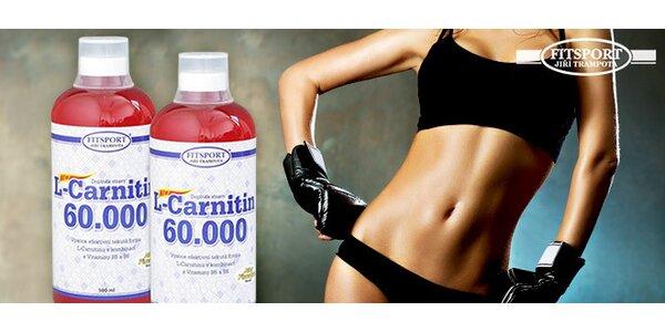 Spalovač tuků s obsahem 120 000 mg L-Carnitinu