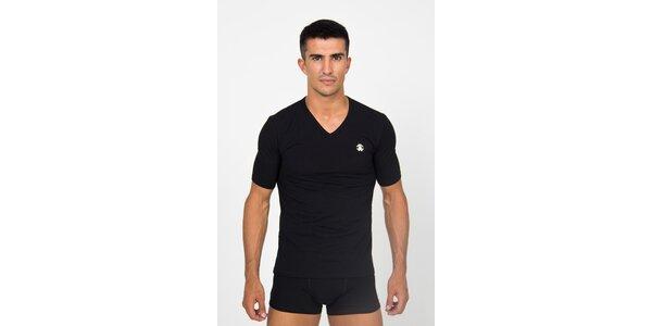 Pánské černé podvlékací tričko Roberto Cavalli