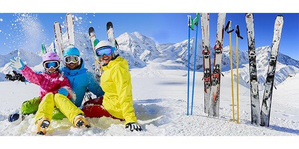 Kompletní malý servis lyží