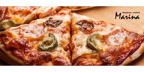 Dvě výtečné pizzy o průměru 32 nebo 40 cm