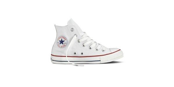 Bílé kotníkové tenisky Converse