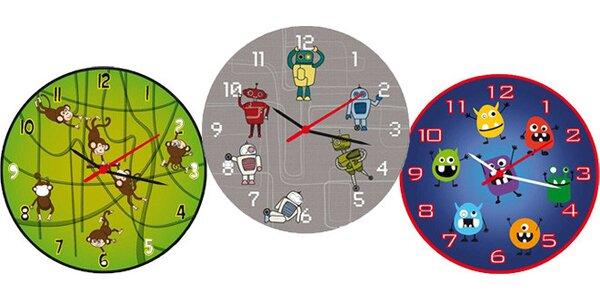 Hravé a originální dětské hodiny