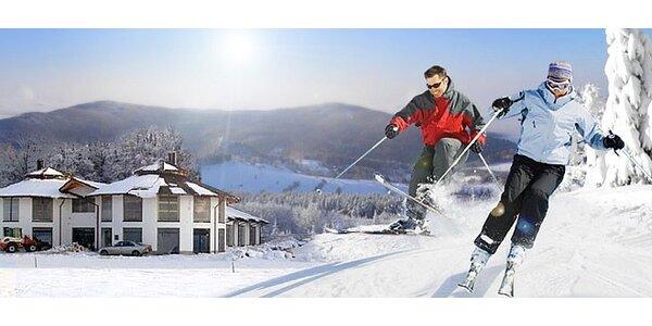 Zimní pobyt v Českém Švýcarsku pro DVA včetně skipasu