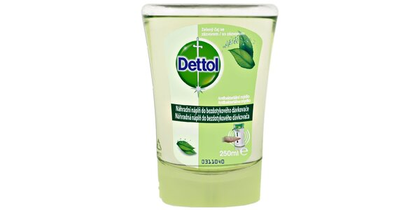 DETTOL Náplň do bezdot. dávkovače Zelený čaj 250 ml