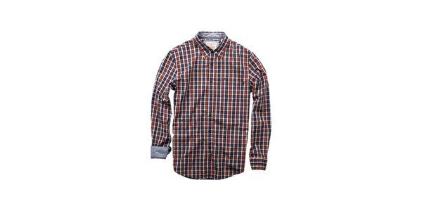 Pánská modro-červená kostičkovaná košile Dockers