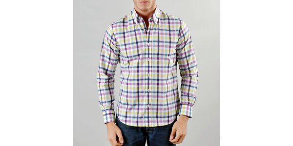 Pánská barevná košile Marcel Massimo