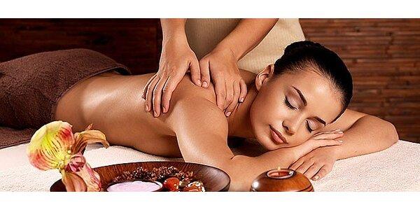 Hodinový relax - výběr ze 3 druhů masáží