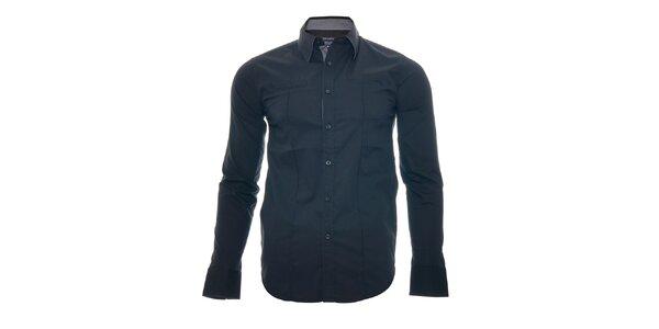 Stylová černá košile