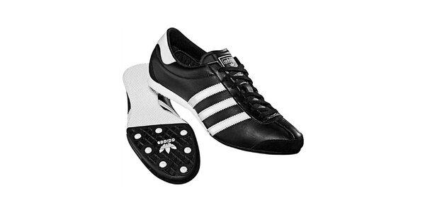 Dámské černo-bílé tenisky Adidas