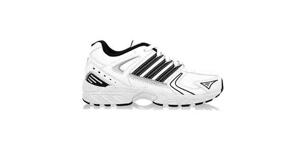 Dětské bílo-černé tenisky Adidas