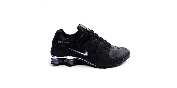 Pánské černé sportovní tenisky Nike Shox