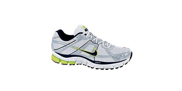 Pánské šedo-bílé běžecké tenisky Nike
