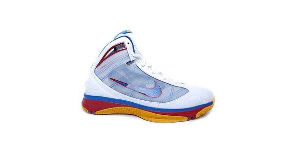 Pánské modro-červeno-bílé kotníkové tenisky Nike