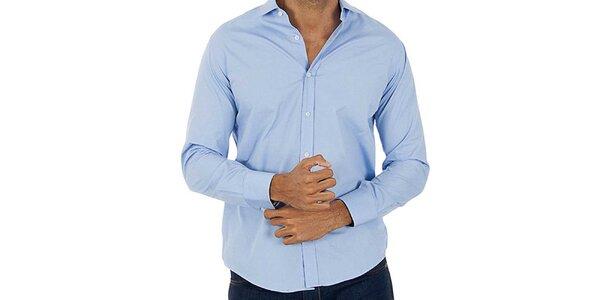 Pánská světle modrá košile Lotto