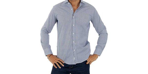 Pánská světle modro-bílá košile Lotto