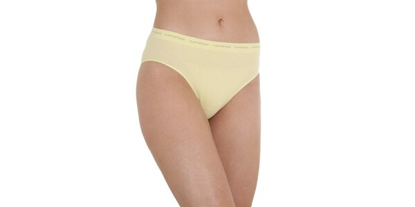 Dámské vanilkově žluté kalhotky Unno