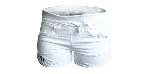 Dámské bílé kraťásky ALEA