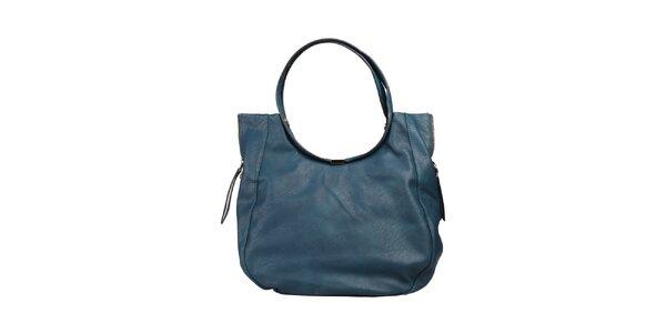 Dámská velká modrá kabelka Dudlin