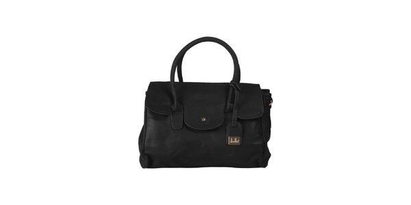 Dámská černá kabelka s visačkou Dudlin