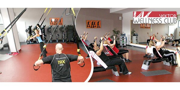 13 druhů cvičení ve Vektor wellness clubu