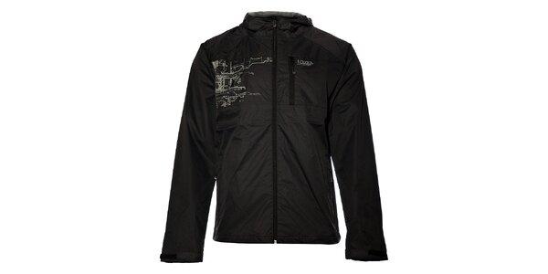 Pánská černá šusťáková bunda Loap