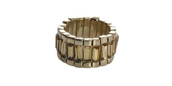 Dámský zlatý mosazný prsten Esprit