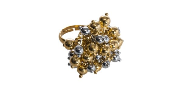 Dámský zlato-stříbrný mosazný prsten Esprit
