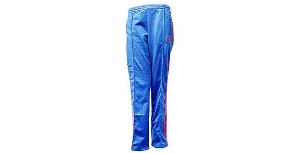 Dámské modré sportovní kalhoty Adidas