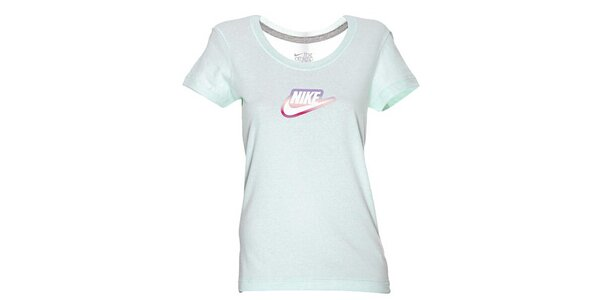 Dámské zelenkavé triko Nike