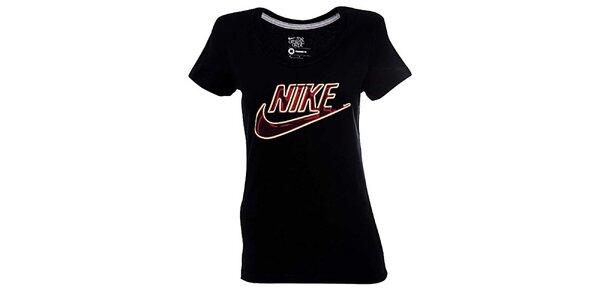 Dámské černé triko Nike