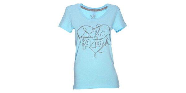 Dámské světle modré tričko Nike