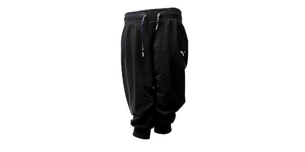 Dámské černé capri kalhoty Puma