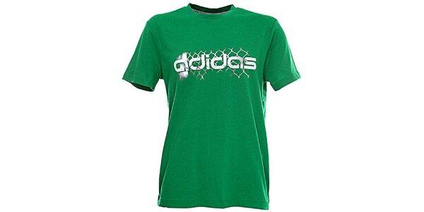 Pánské zelené tričko Adidas