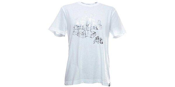 Pánské bílé tričko Adidas