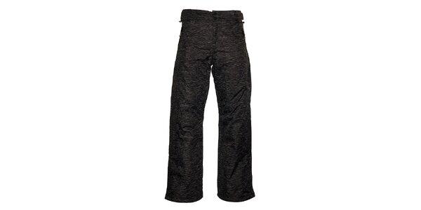 Pánské šedé melírované lyžařské kalhoty Loap