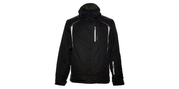 Pánská černá lyžařská bunda