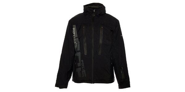 Pánská černá zimní bunda Loap