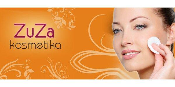 60 minut kosmetického ošetření přírodní kosmetikou Naturae