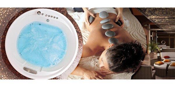 Thajské masáže, privátní sauna s vířivkou