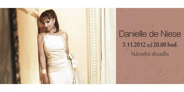 Galakoncert americké sopranistky Danielle de Niese vNárodním divadle