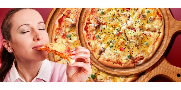 DVĚ pizzy dle vlastního výběru z deseti druhů