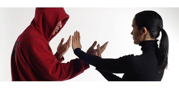 720 Kč za kurz sebeobrany pro ženy v hodnotě 1200 Kč. SLEVA 40%!