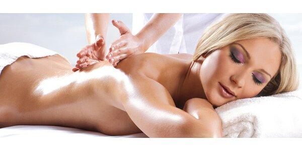 Breussova nebo klasická masáž pro rovná záda