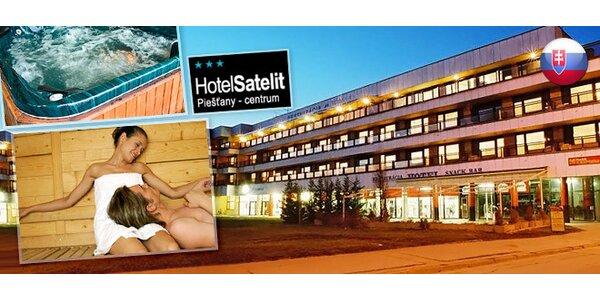 3denní pobyt pro DVA v hotelu Satelit*** v lázních Pieštany