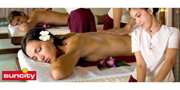 Thajská masáž zad, hlavy a ramen od rodilé Thajky!