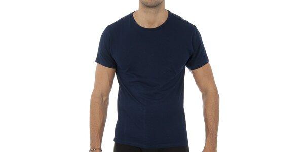Pánské tmavě modré tričko Ralph Lauren