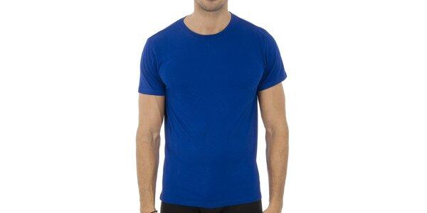 Pánské sytě modré tričko Ralph Lauren