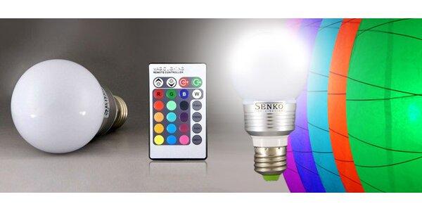 LED žárovka Senco s dálkovým ovládáním